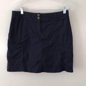 Karen Scott Navy Skort Size 8. Gently Used